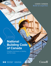 The National Building Code of Canada 2015 (NBC)