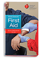 Heartsaver� First Aid Quick Reference Guide