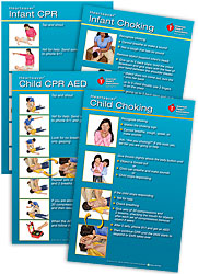 Heartsaver® Child And Infant Poster Pack