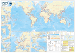 The Shipping World's Map 8th edition