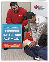 Heartsaver� First Aid CPR AED Student Workbook (Spanish)