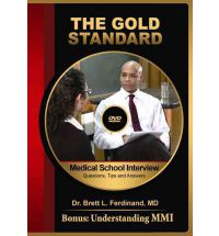 Medical School Interview Video: Questions, Tips and Answers + MMI (gold Standard) (DVD)