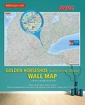 Golden Horseshoe South Central Ontario Laminated Wall Map