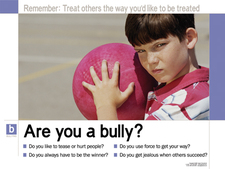 Bullying Prevention Poster Series