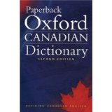 Paperback Oxford Canadian Dictionary 2ed