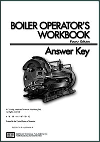 Boiler Operator's Workbook Answer Key 4th edition