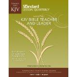KJV Bible Teacher & Leader Large Print-Summer 2014