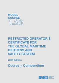 TB126E - Model course: Restricted Operator's Certificate for GMDSS, 2015