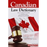 Canadian Law Dictionary 7ed