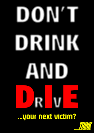 Drinking & Driving Poster Series
